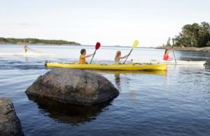 Paddling runt Långholmen/Kungsholmen med guide
